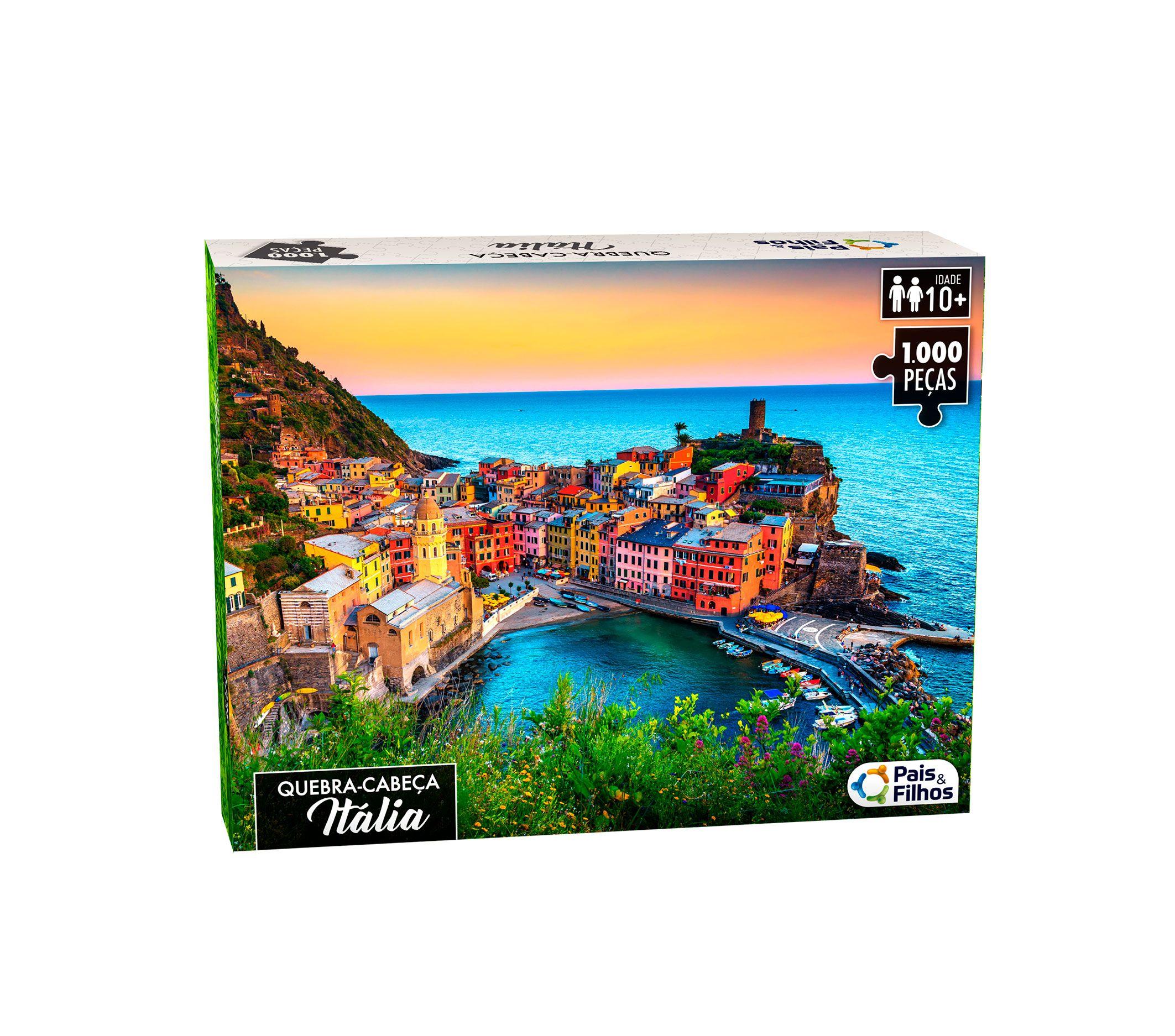 Quebra-Cabeça Itália 1000 peças-0963