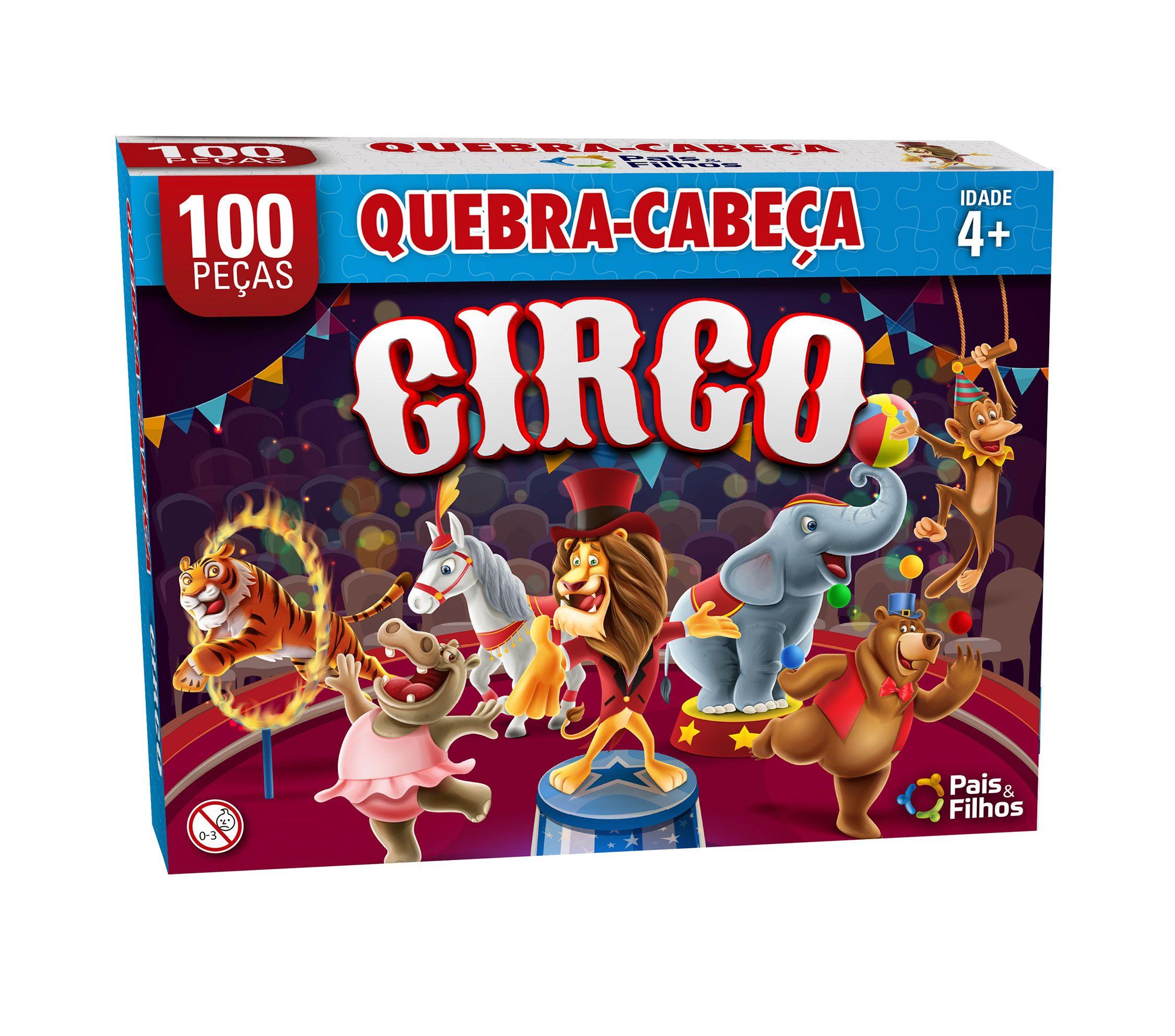 Quebra-Cabeça Circo 10peças-2873