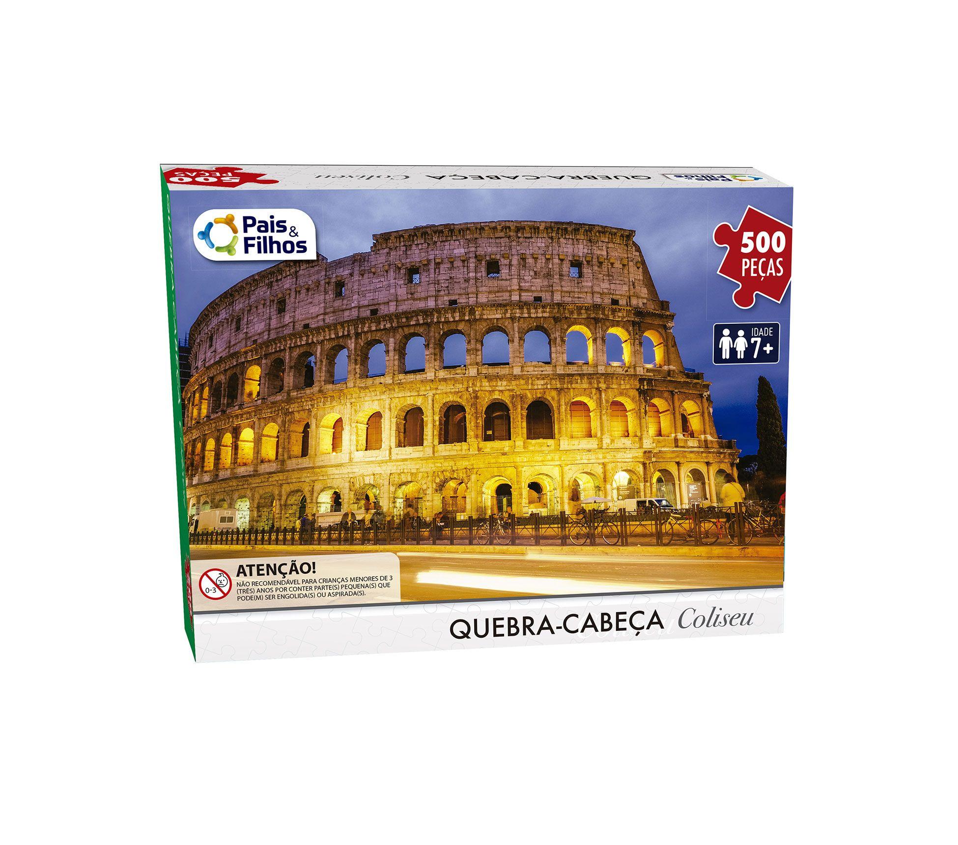 Quebra Cabeça Coliseu - 500 Peças-7265