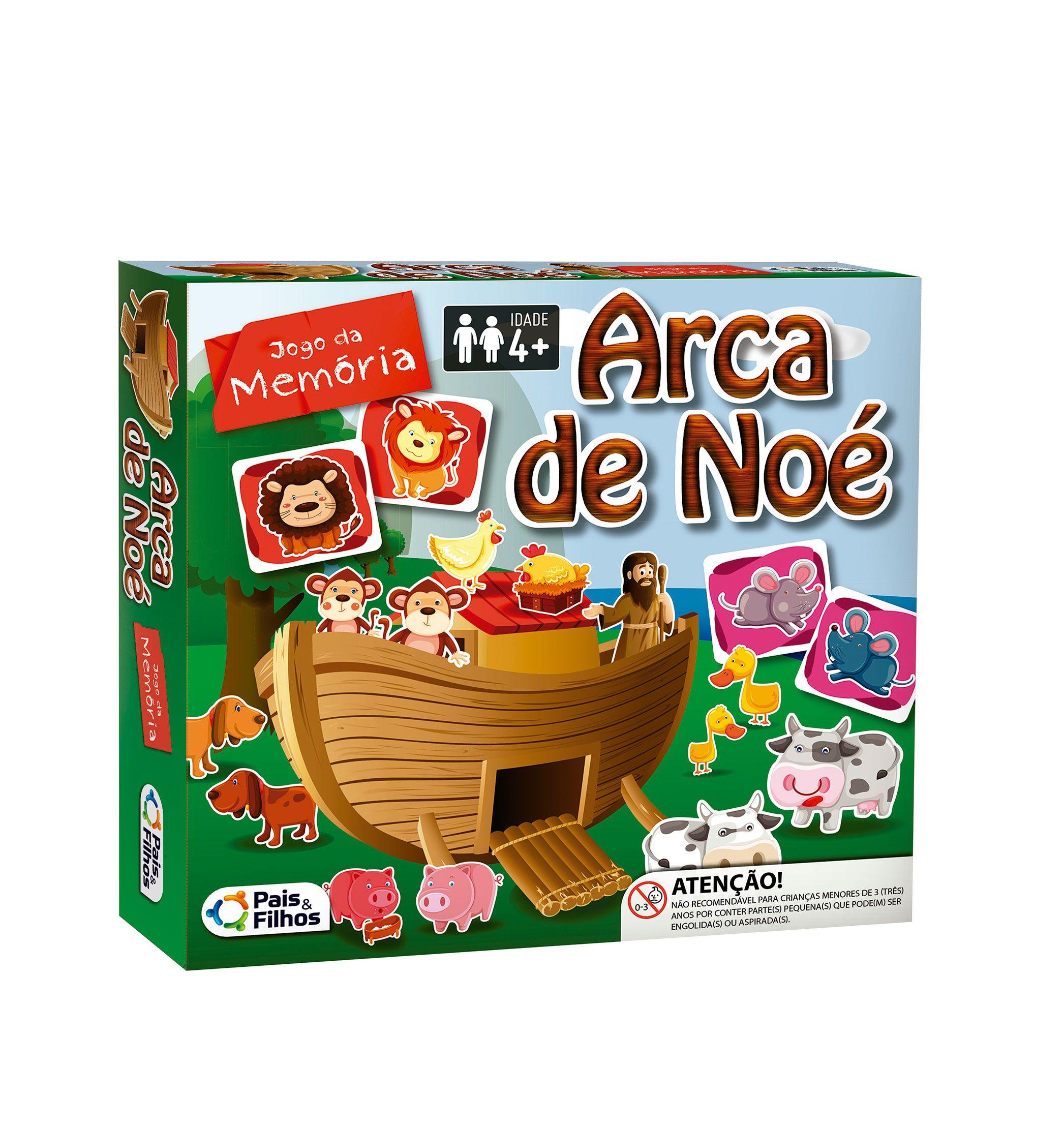 Jogo da Memória Arca de Noé-2785