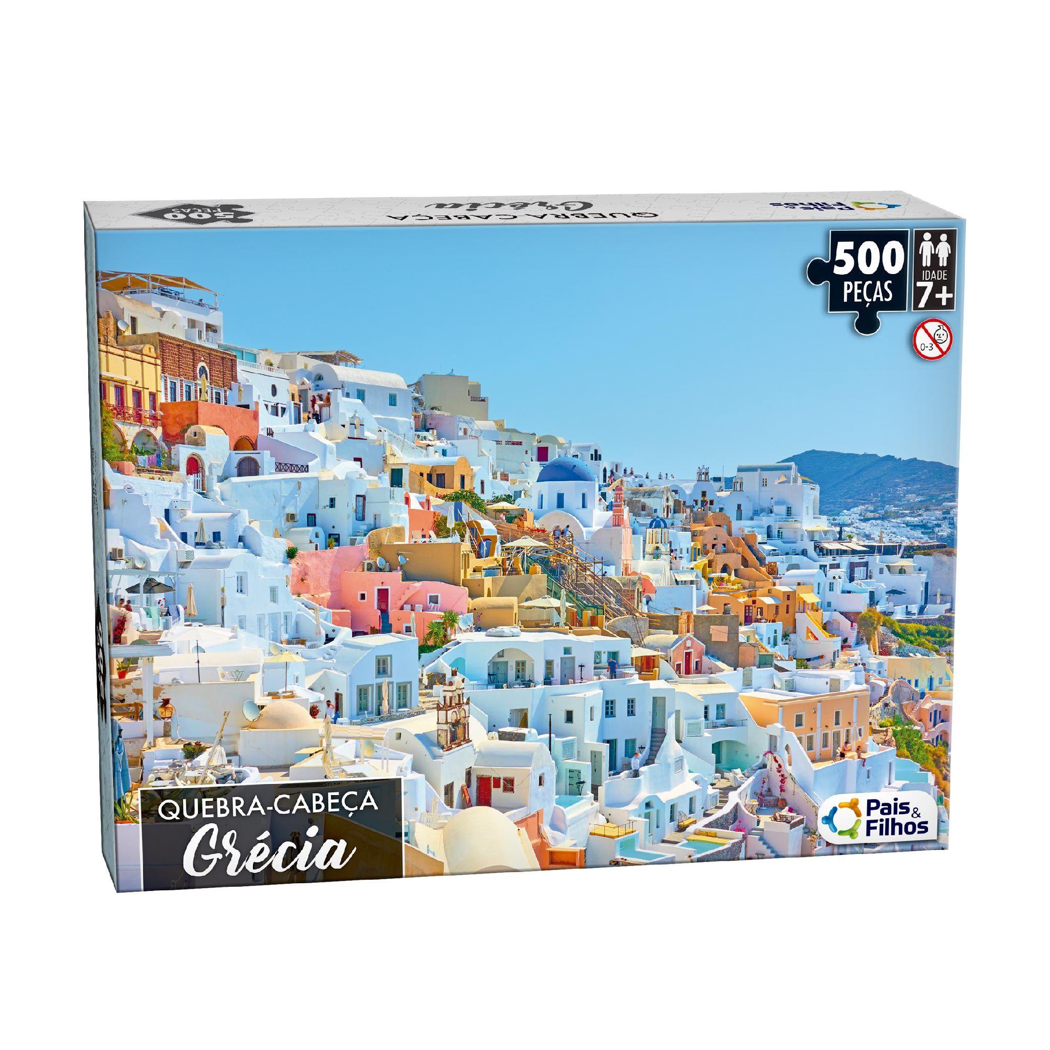 Quebra-Cabeça 500P Grécia-10761