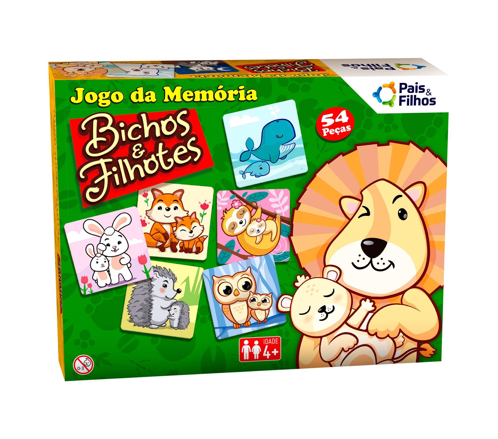 Jogo da memória - Bichos e filhotes-0962