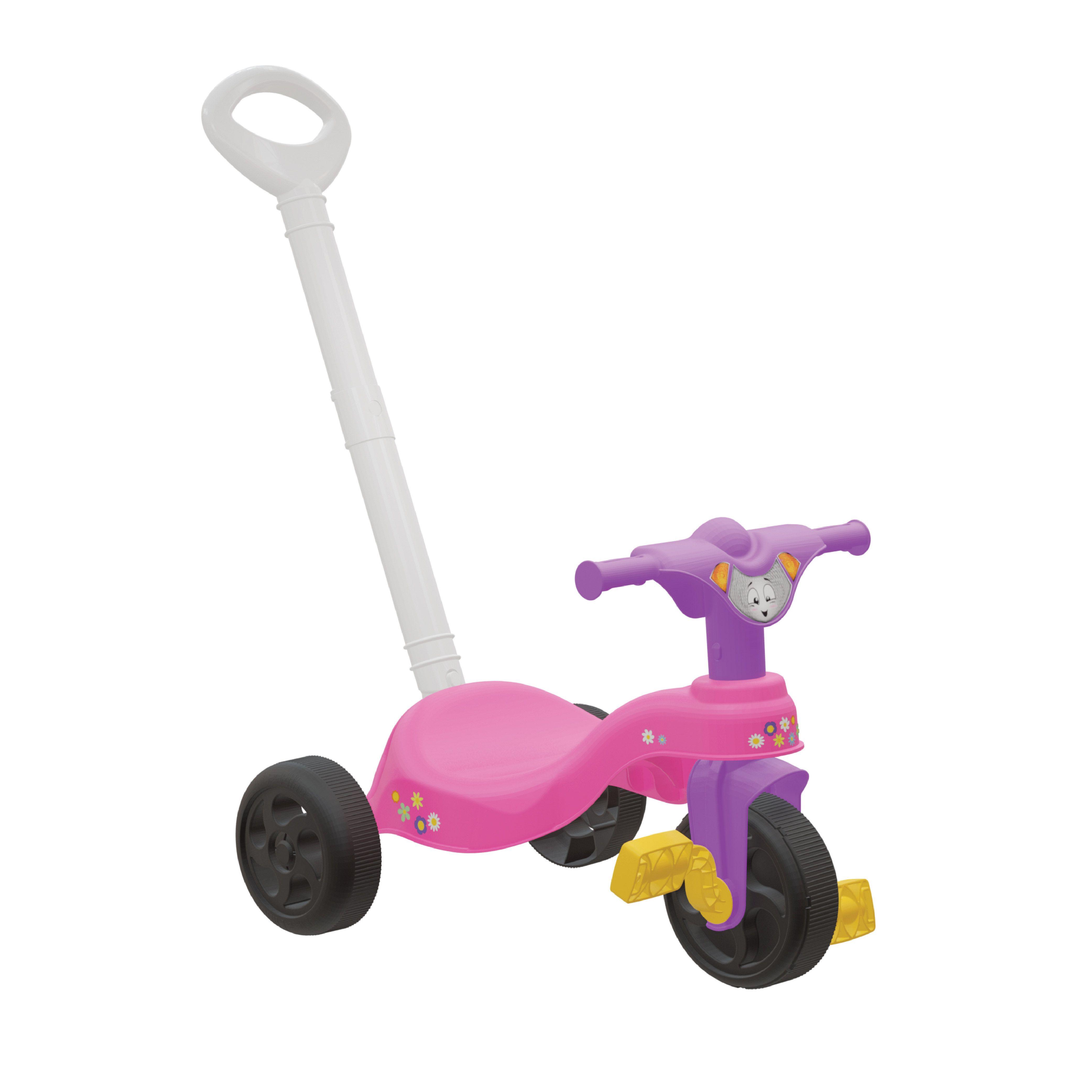 Triciclo Encantado com Empurrador-790354