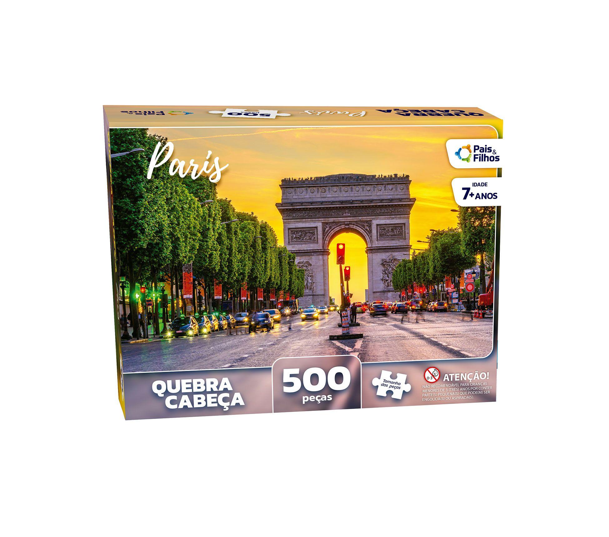 Quebra-Cabeça Paris  500 peças-2978