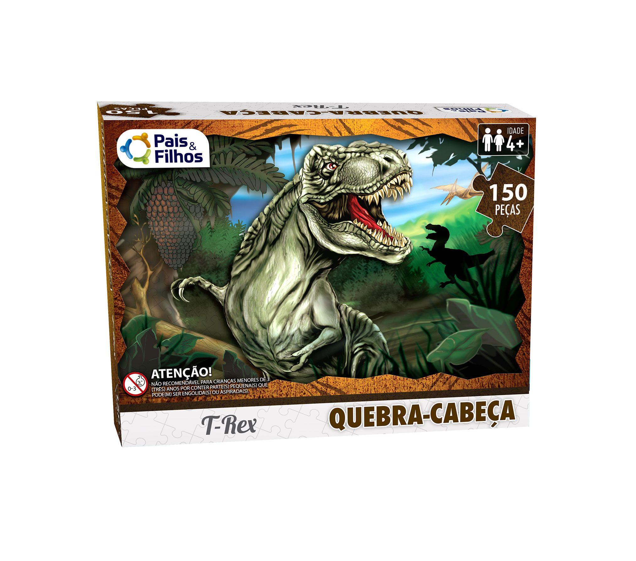 Quebra-Cabeças T Rex 150 peças-2874