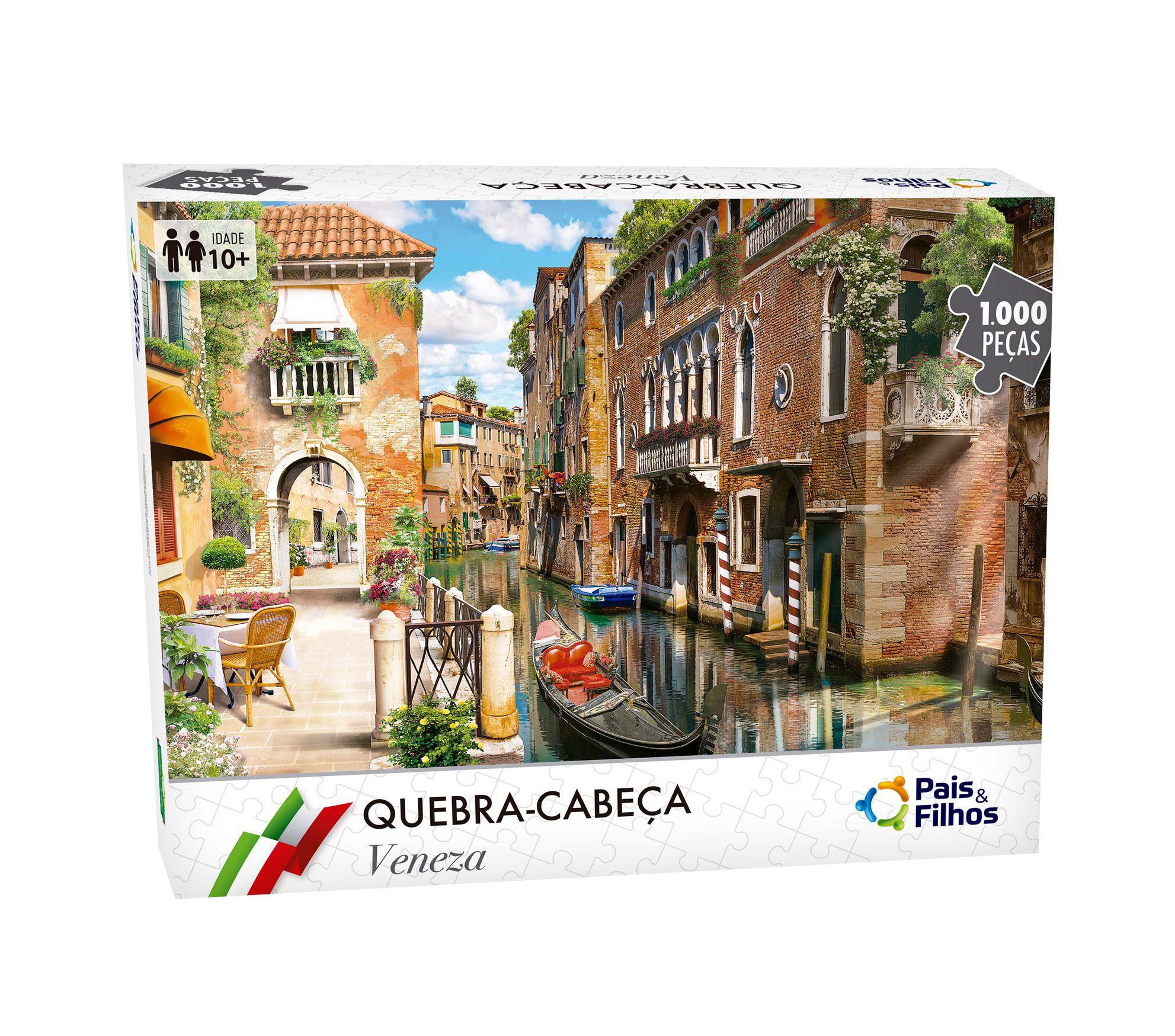 Quebra-Cabeça Veneza - 1000 Peças-7266