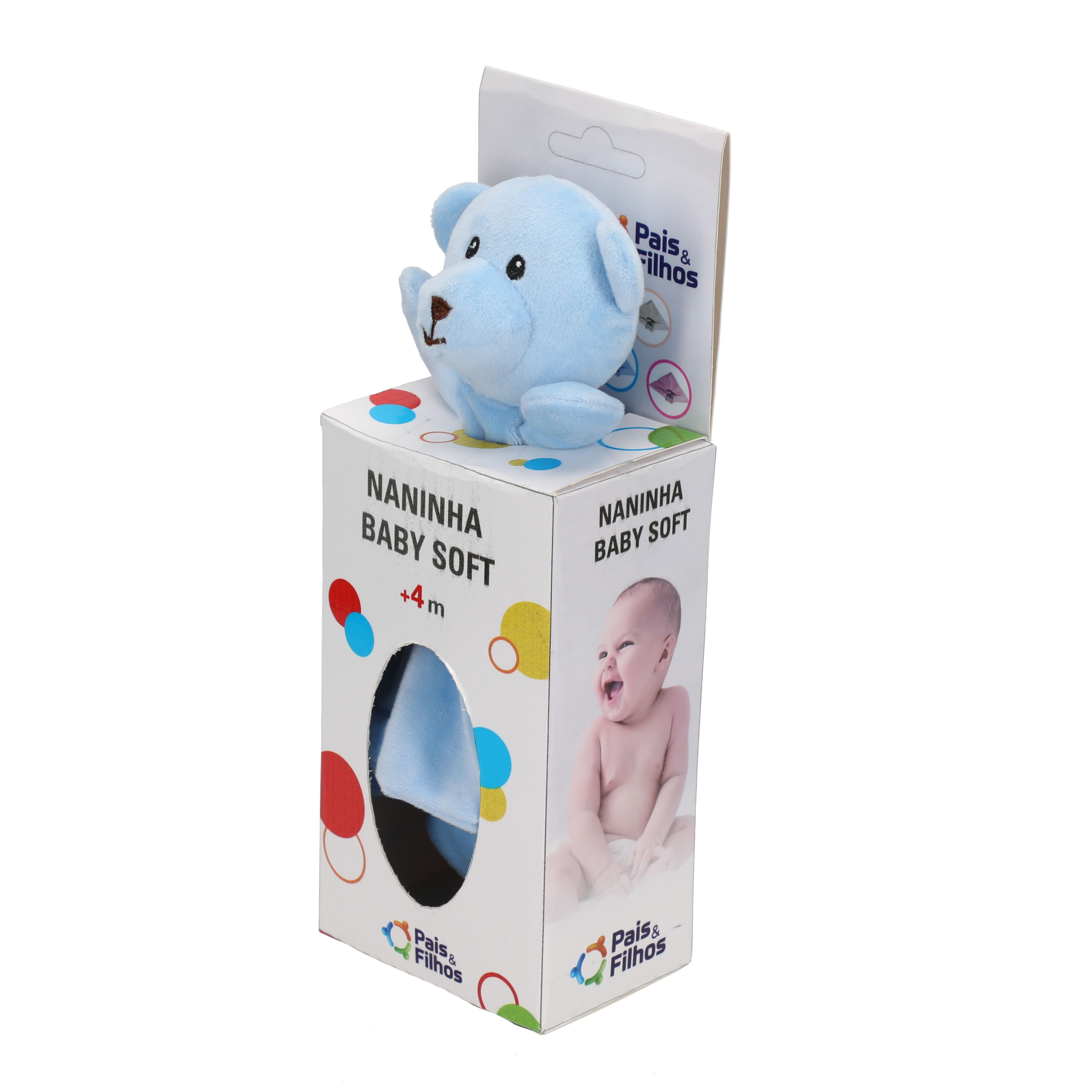 Naninha Baby Soft - Azul-14625
