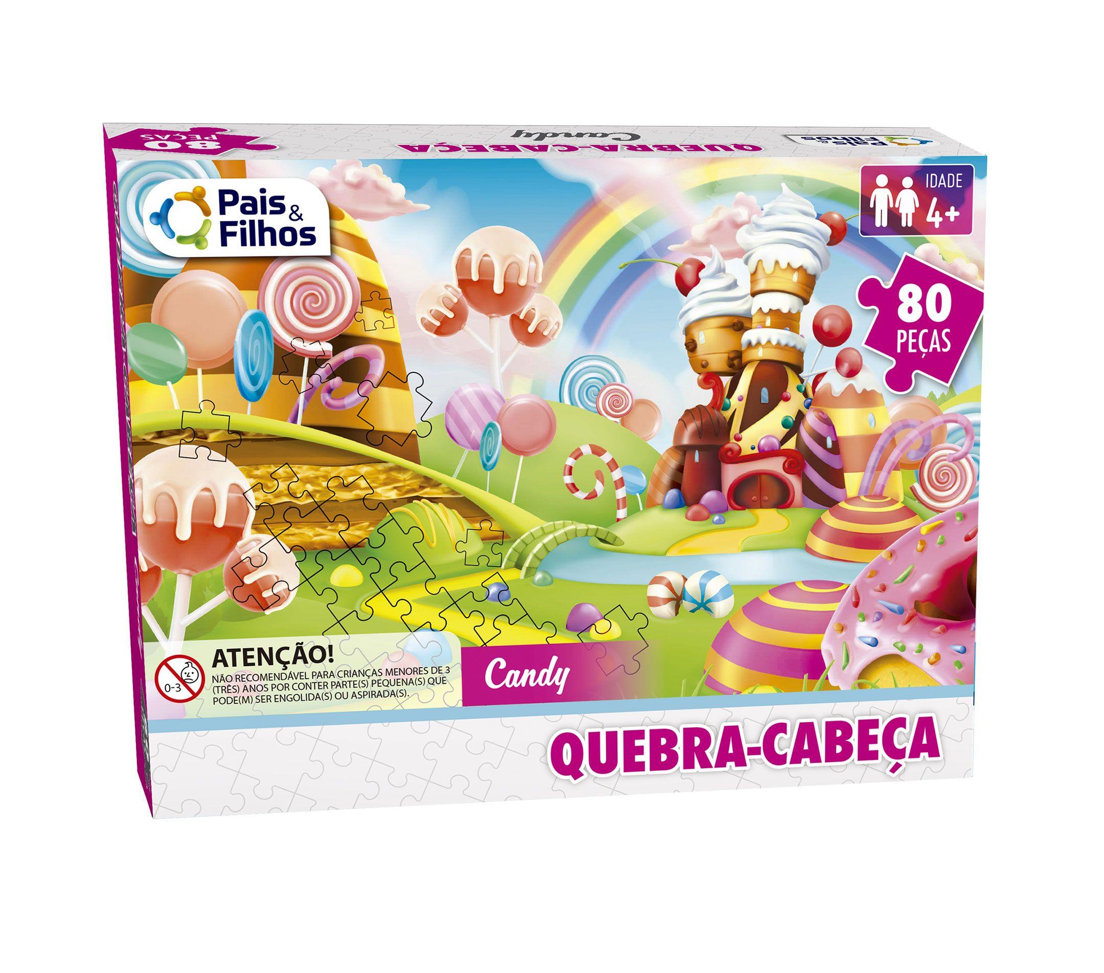 Quebra-Cabeça Candy - 80 Peças-7260