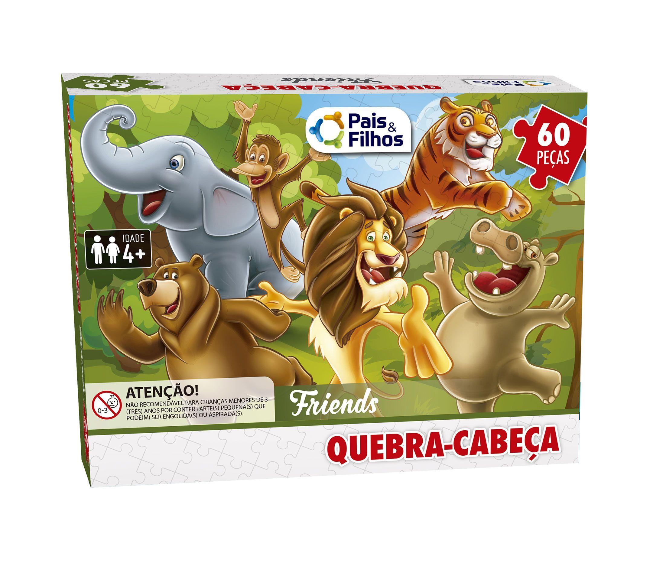 Quebra Cabeça Friends - 60 peças-2971