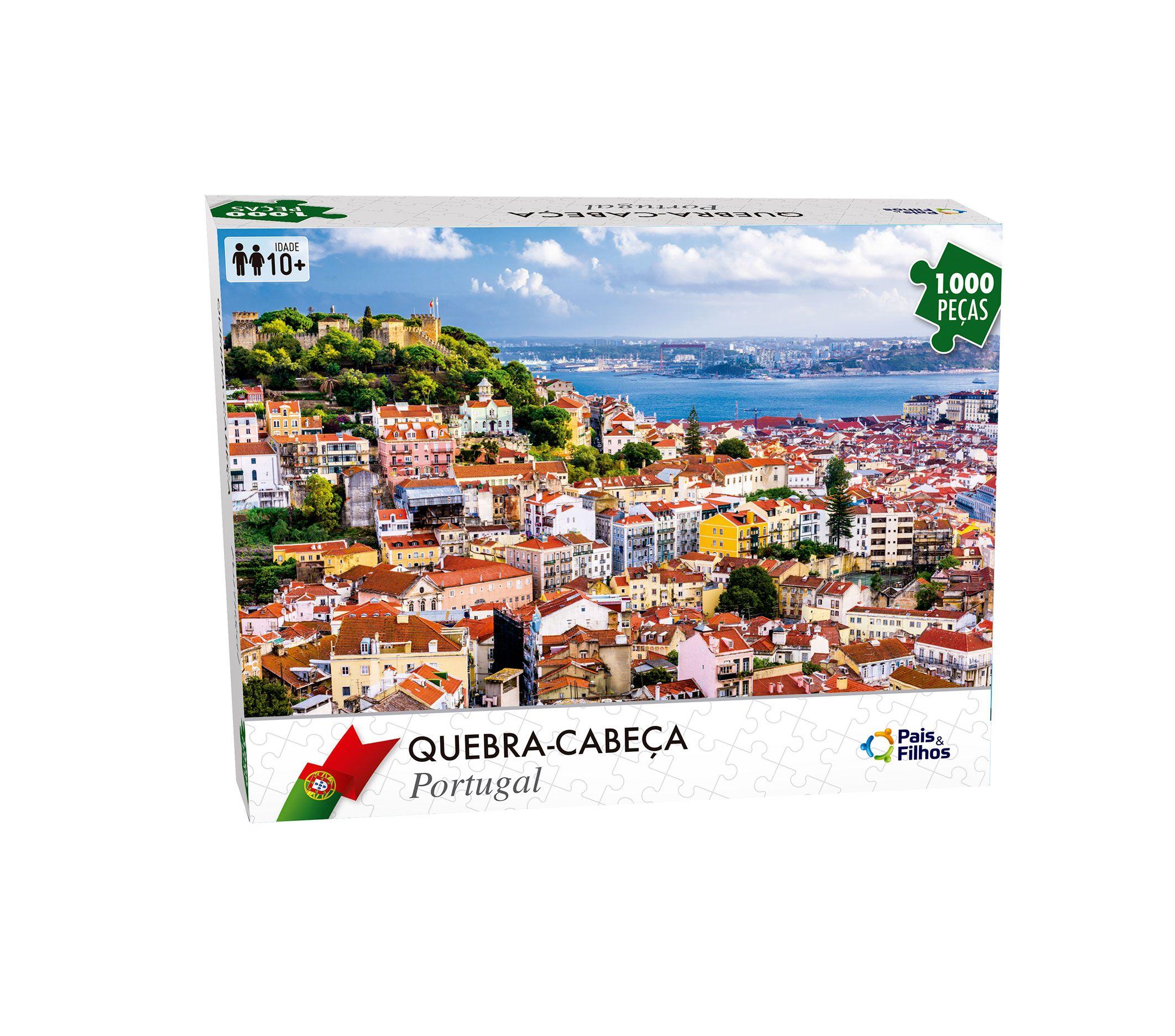Quebra Cabeça Portugal - 1000 Peças-7288