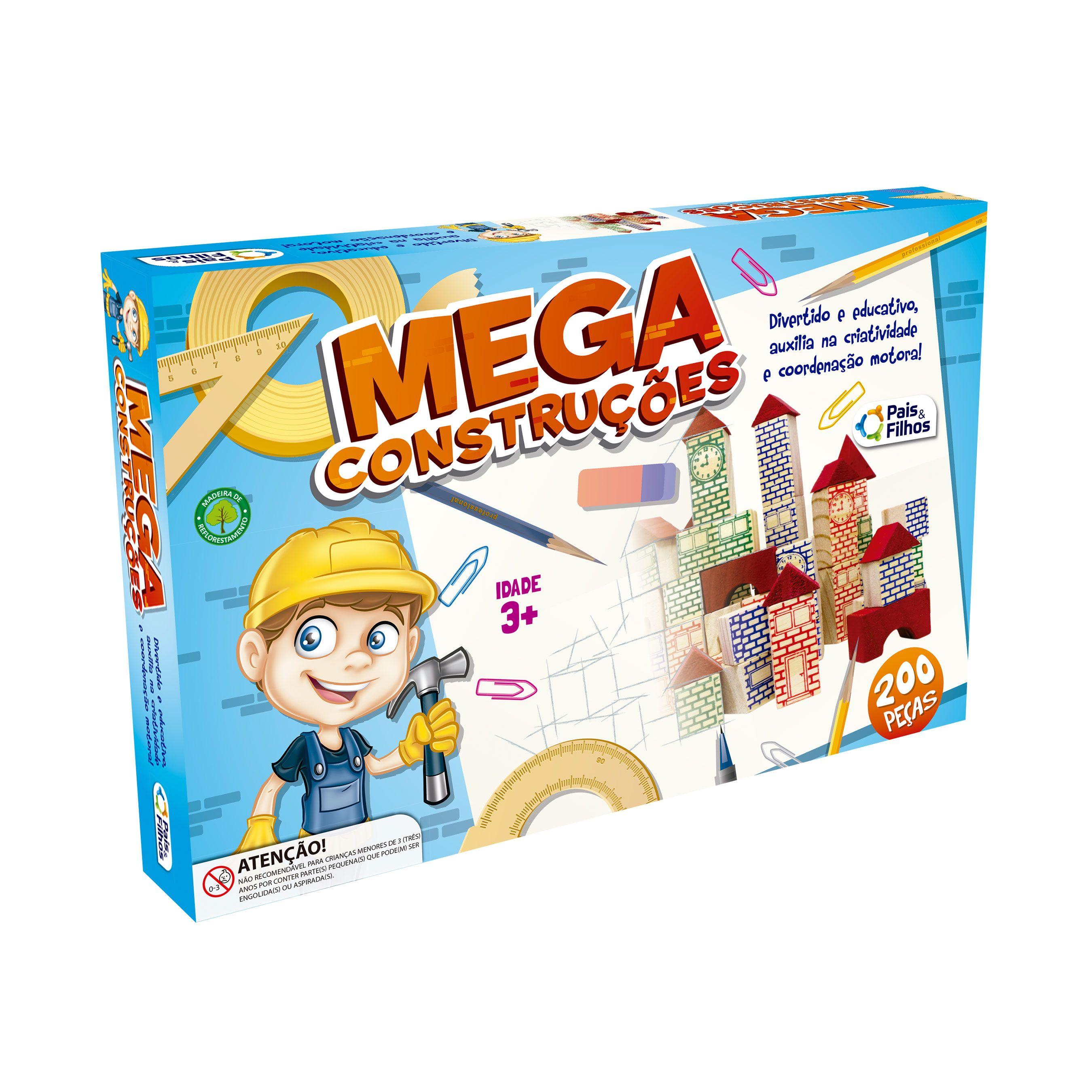 Mega Construções 200 Peças-7438