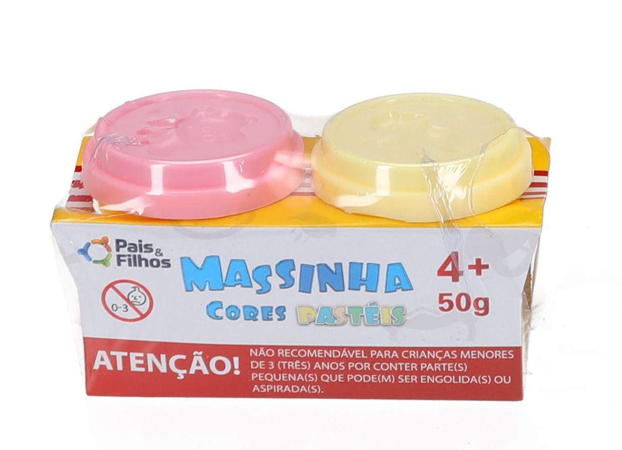 Set Massinha de Modelar - Cores Pastéis -0948