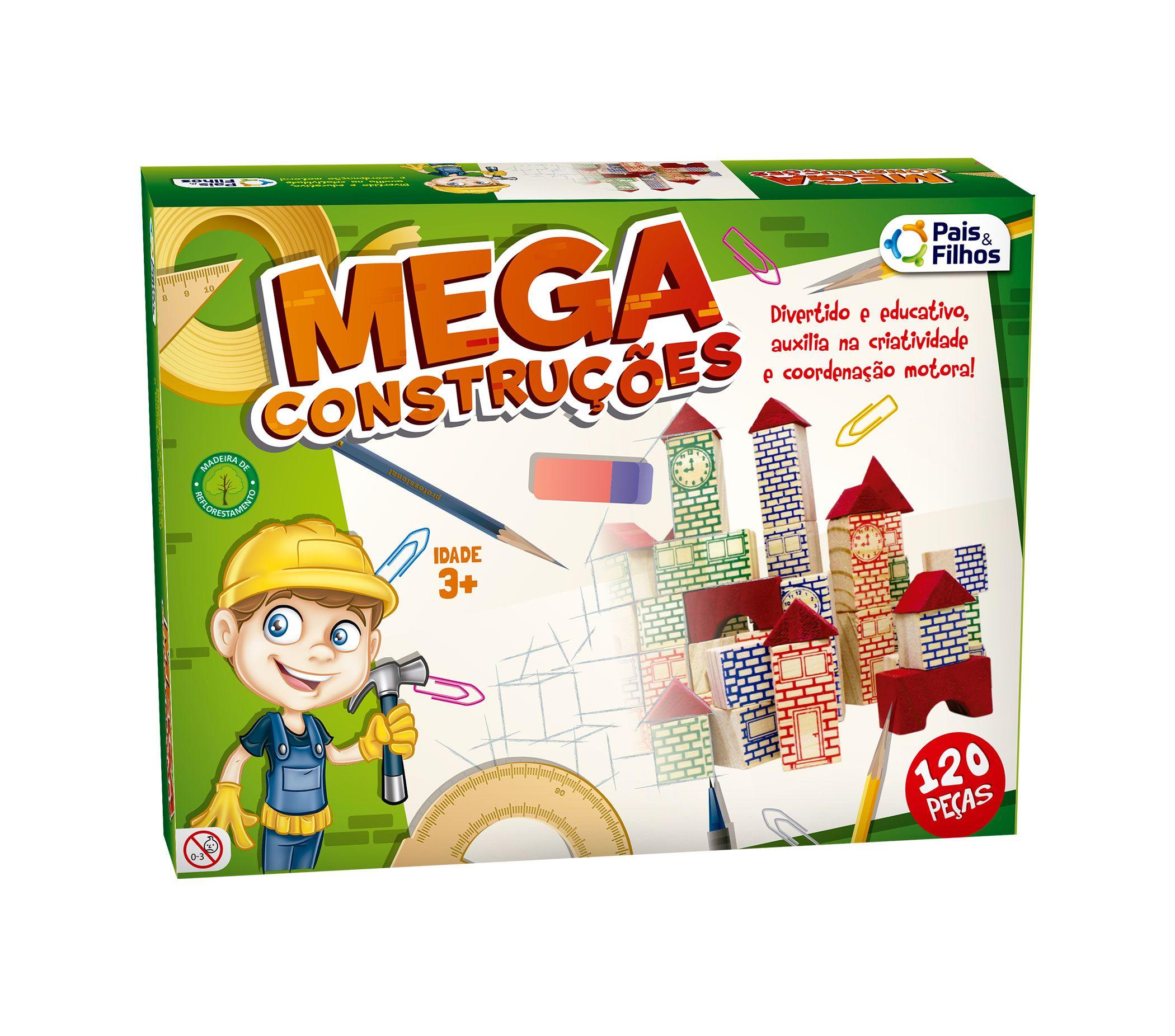 Mega Construções 120 Peças-7361