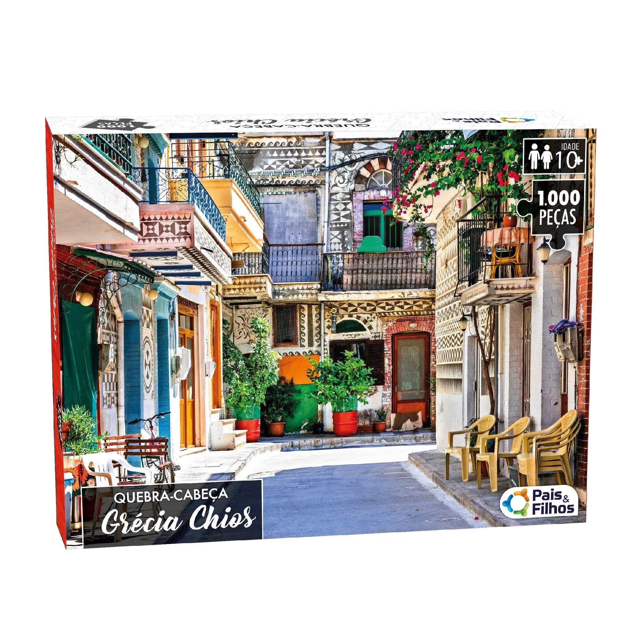 Quebra-Cabeça 1000P Grécia Chios-10794