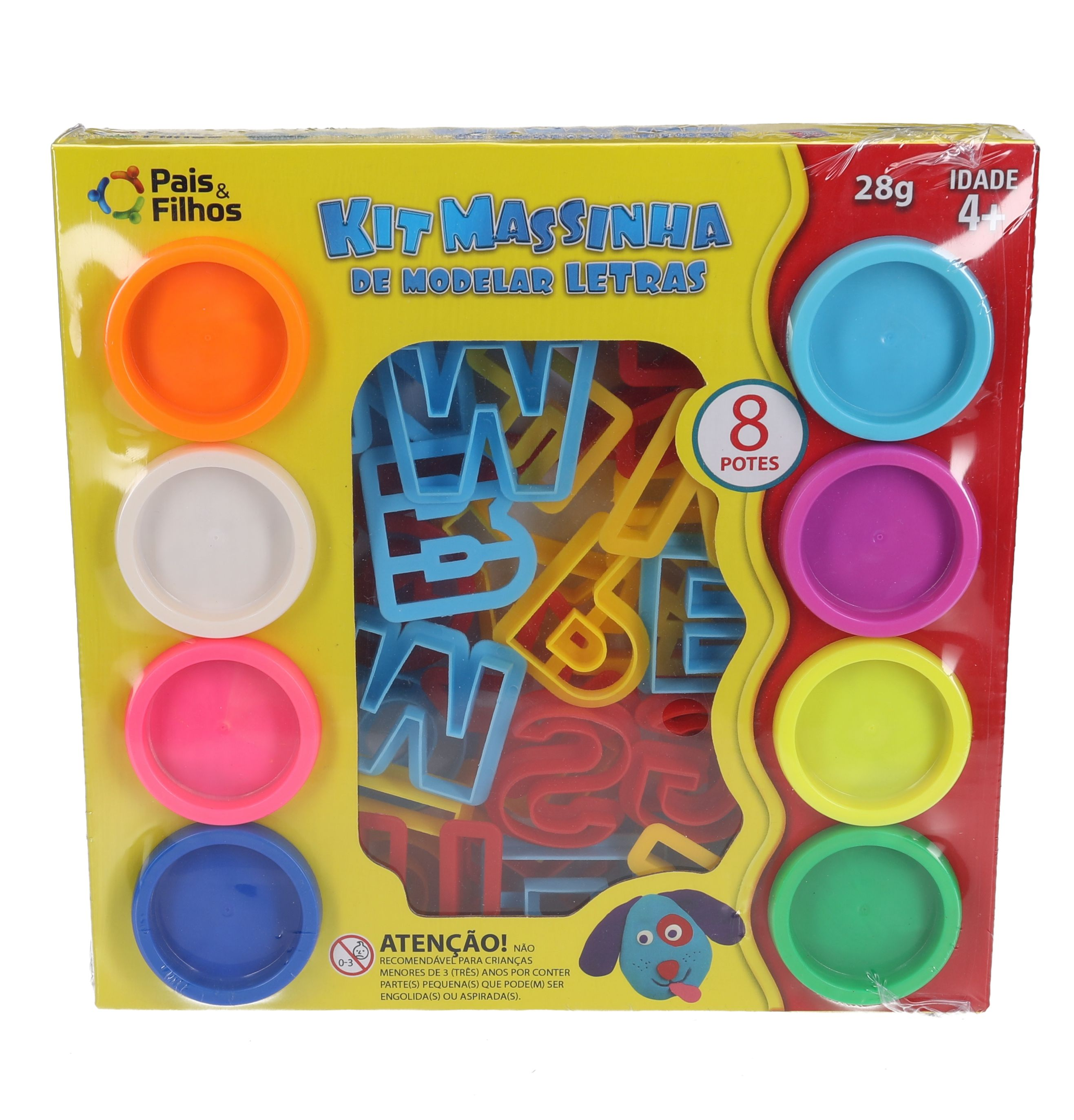 Kit Massinha de Modelar - Letras-6791