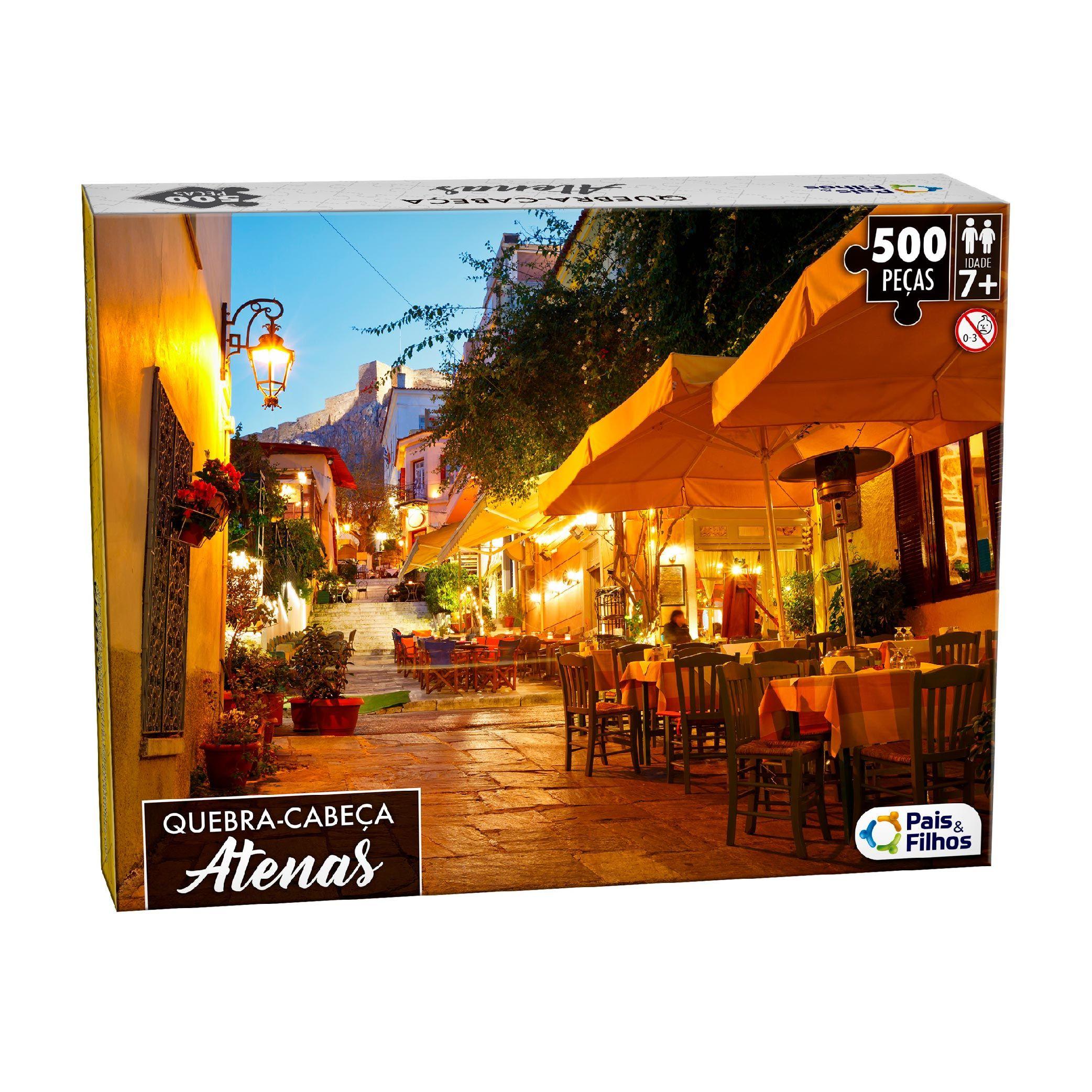 Quebra-Cabeça 500P Atenas-10762