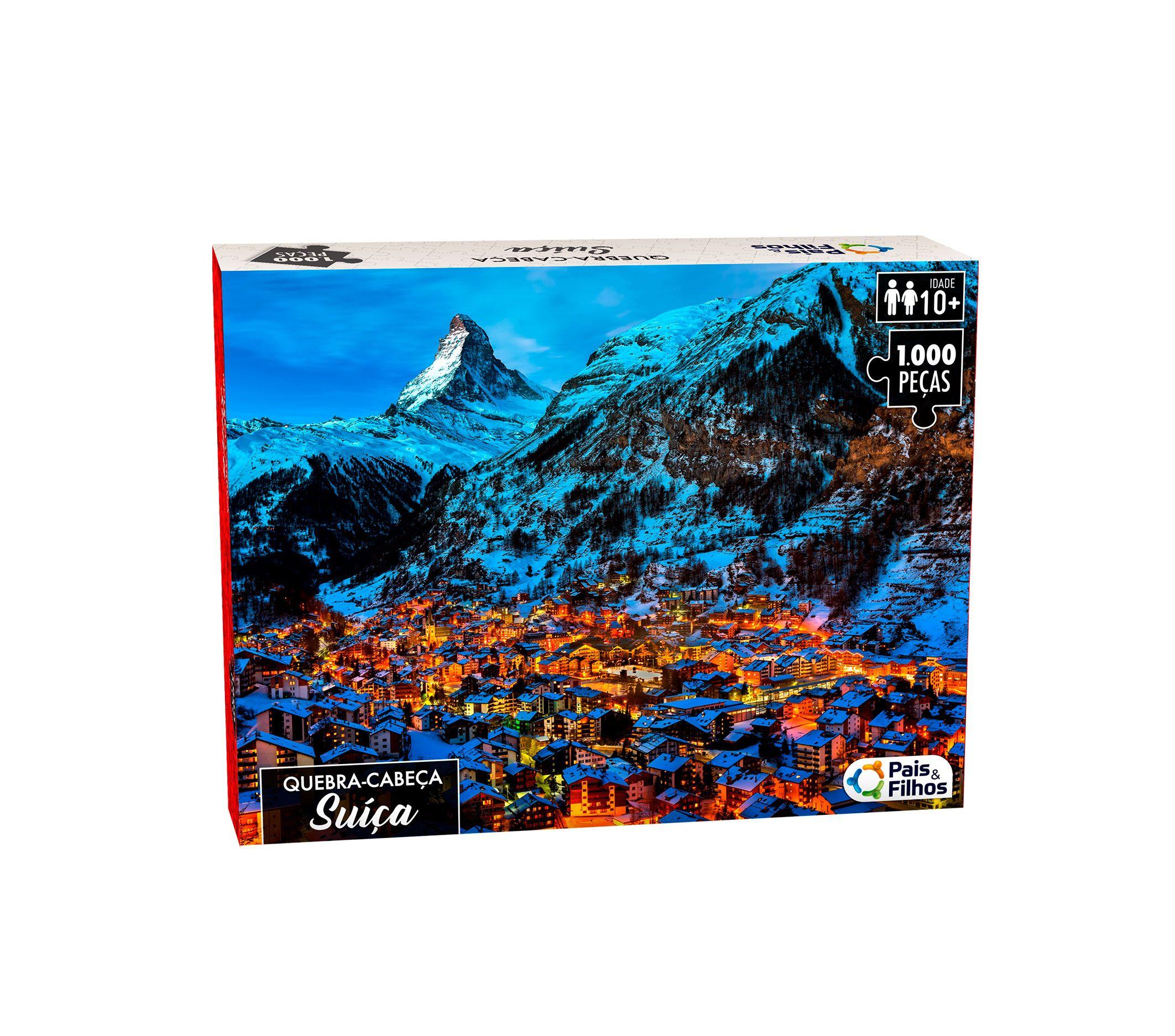 Quebra-Cabeça Suíça 1000 peças-0960