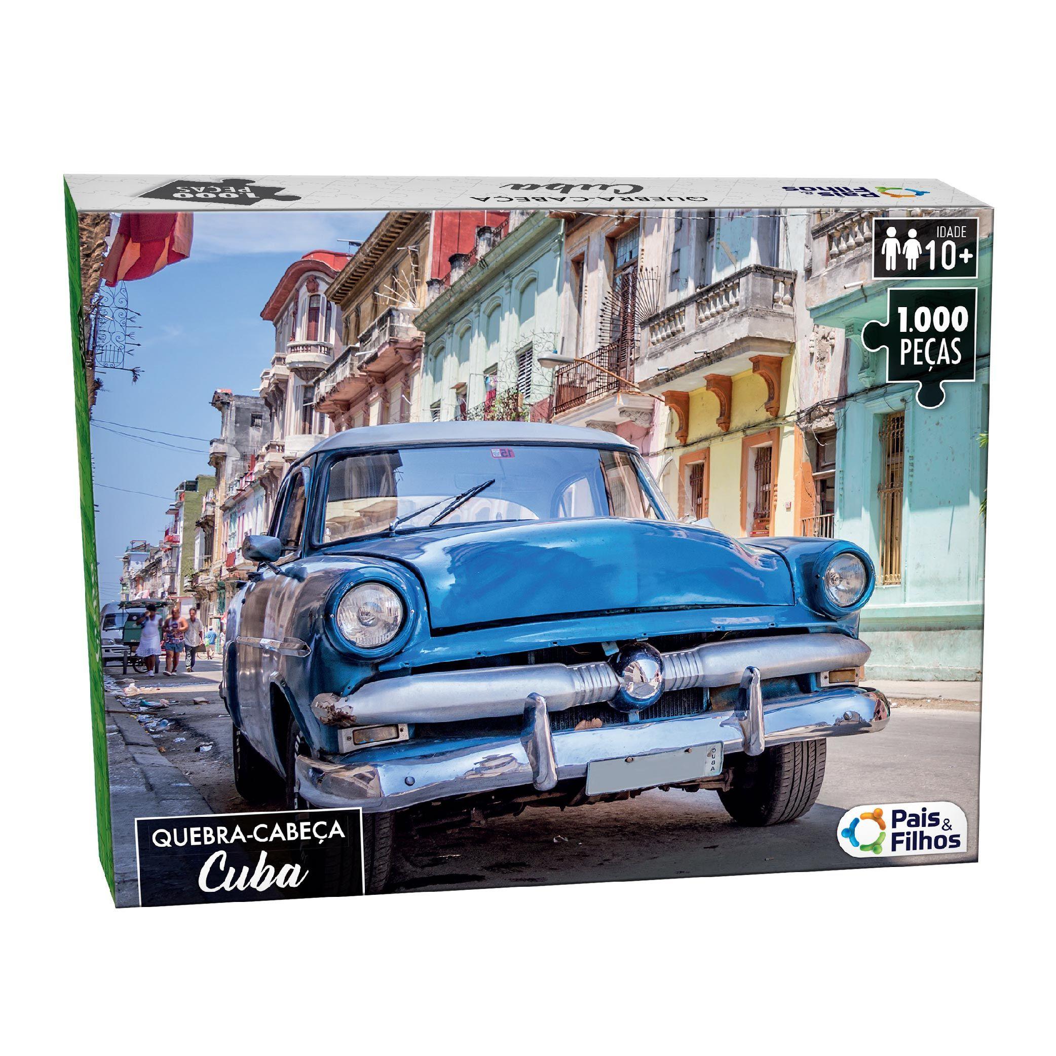 Quebra-cabeça 1000P Cuba-10759