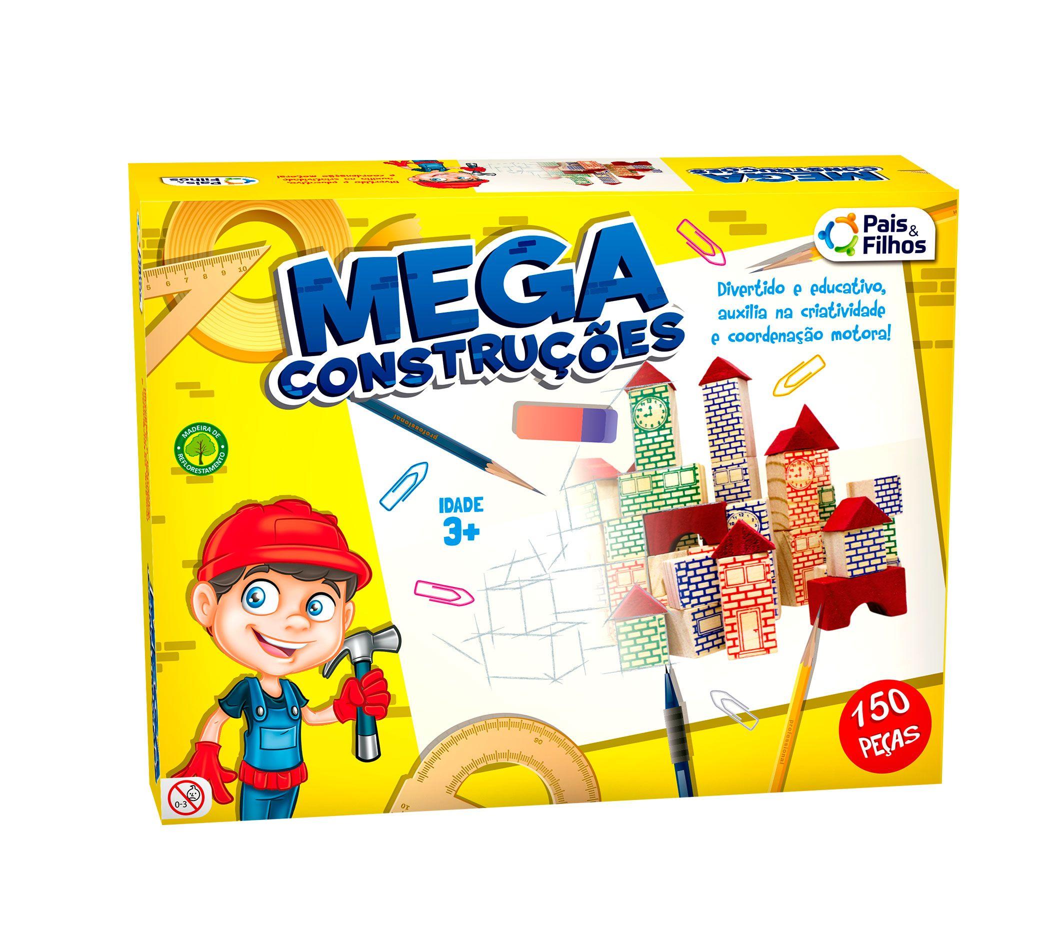 Mega Construções 150 Peças