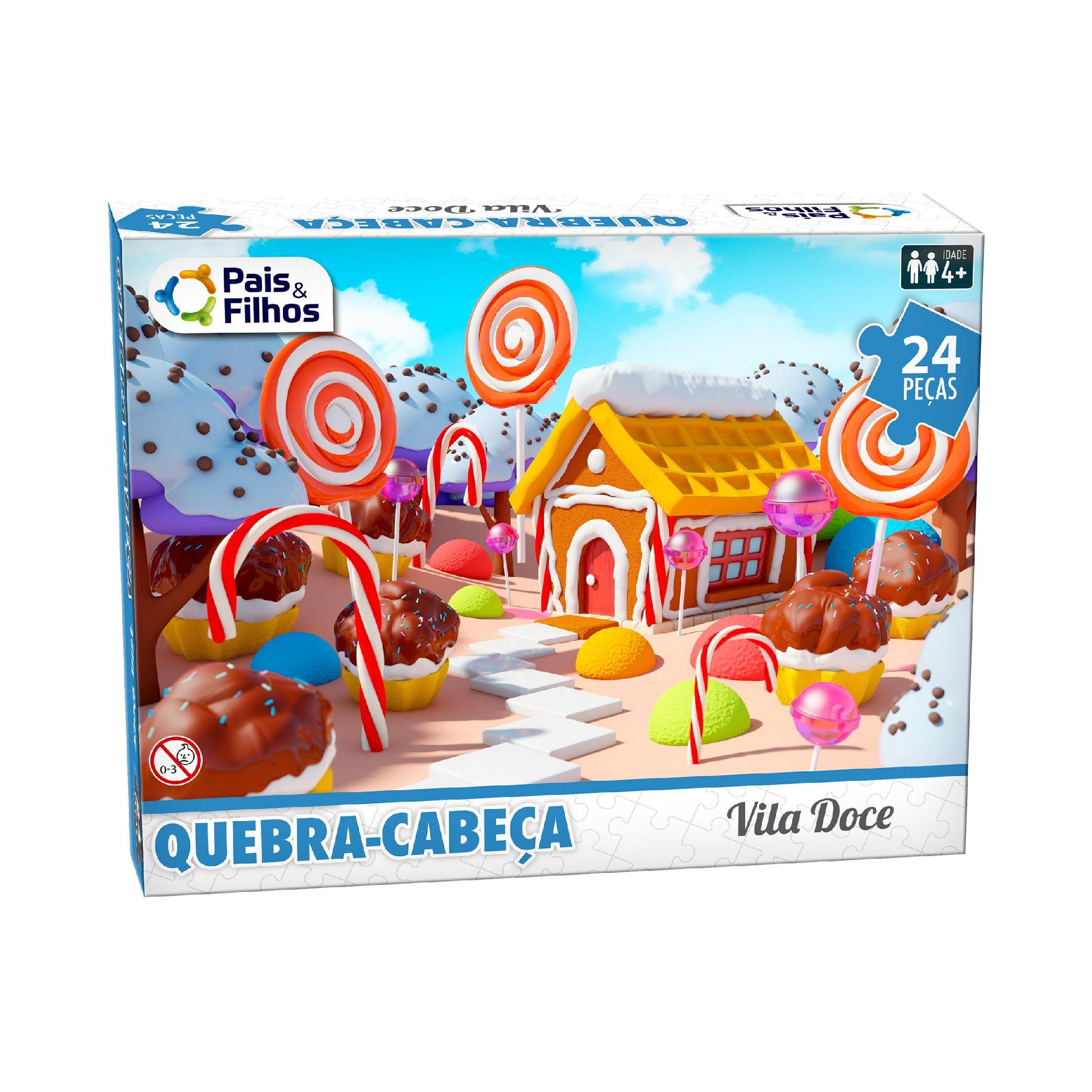 Quebra-cabeça 24P Vila Doce-10771