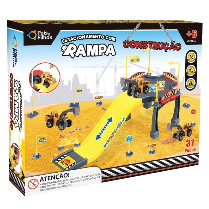 Estacionamento com Rampa - Construção-4026