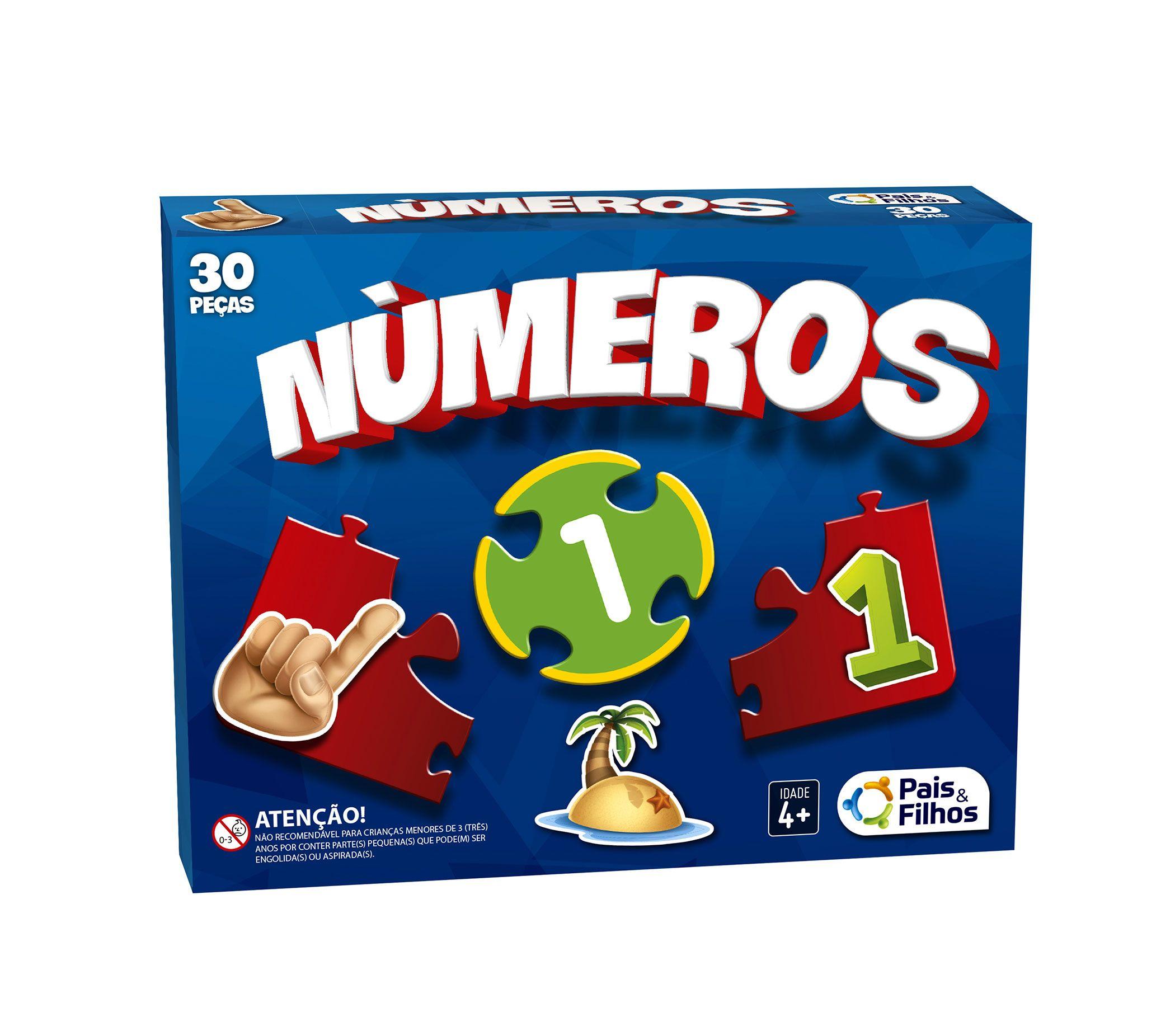 Números - 30 peças