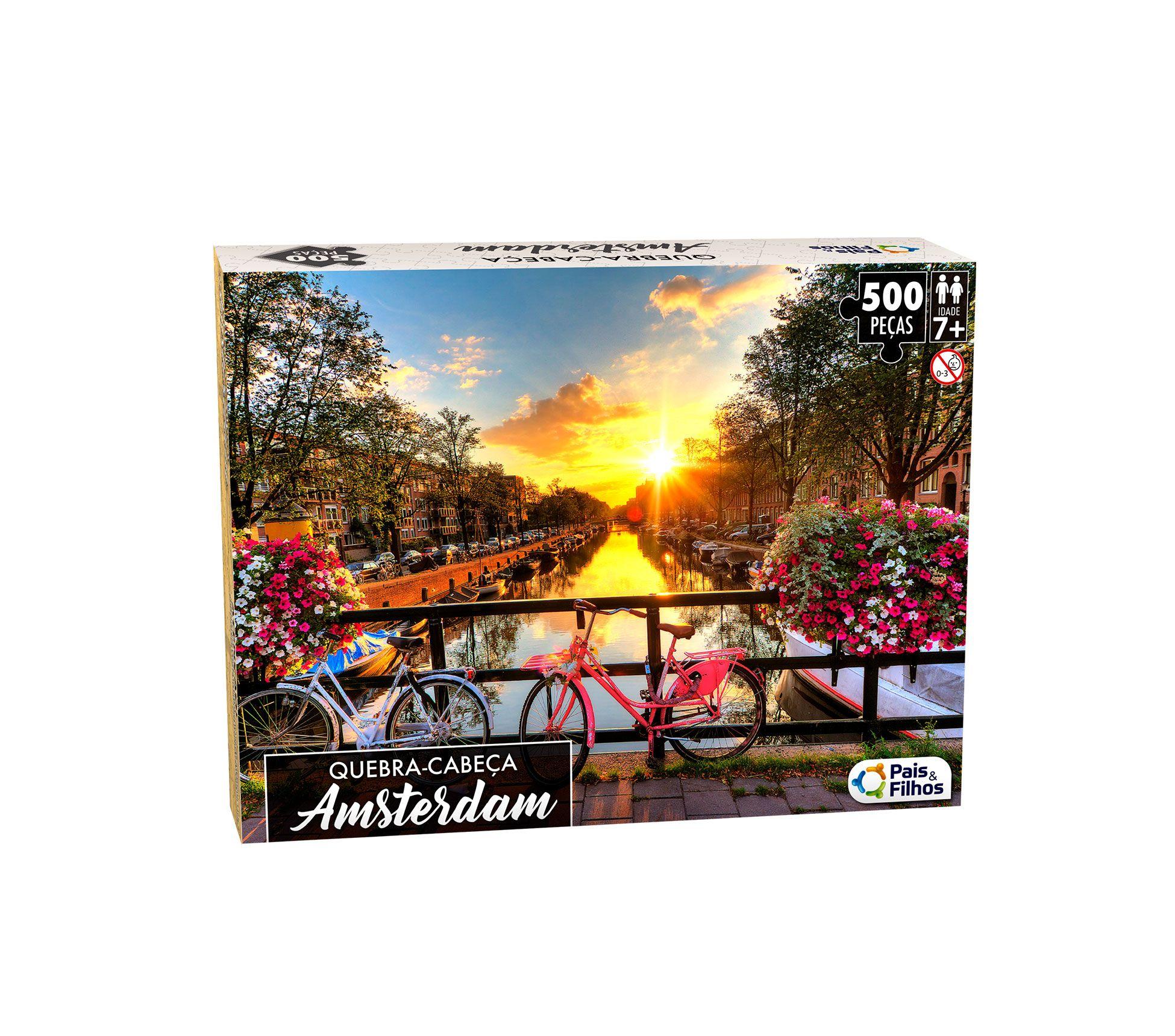 Quebra-Cabeça Amsterdam 500 peças-0863