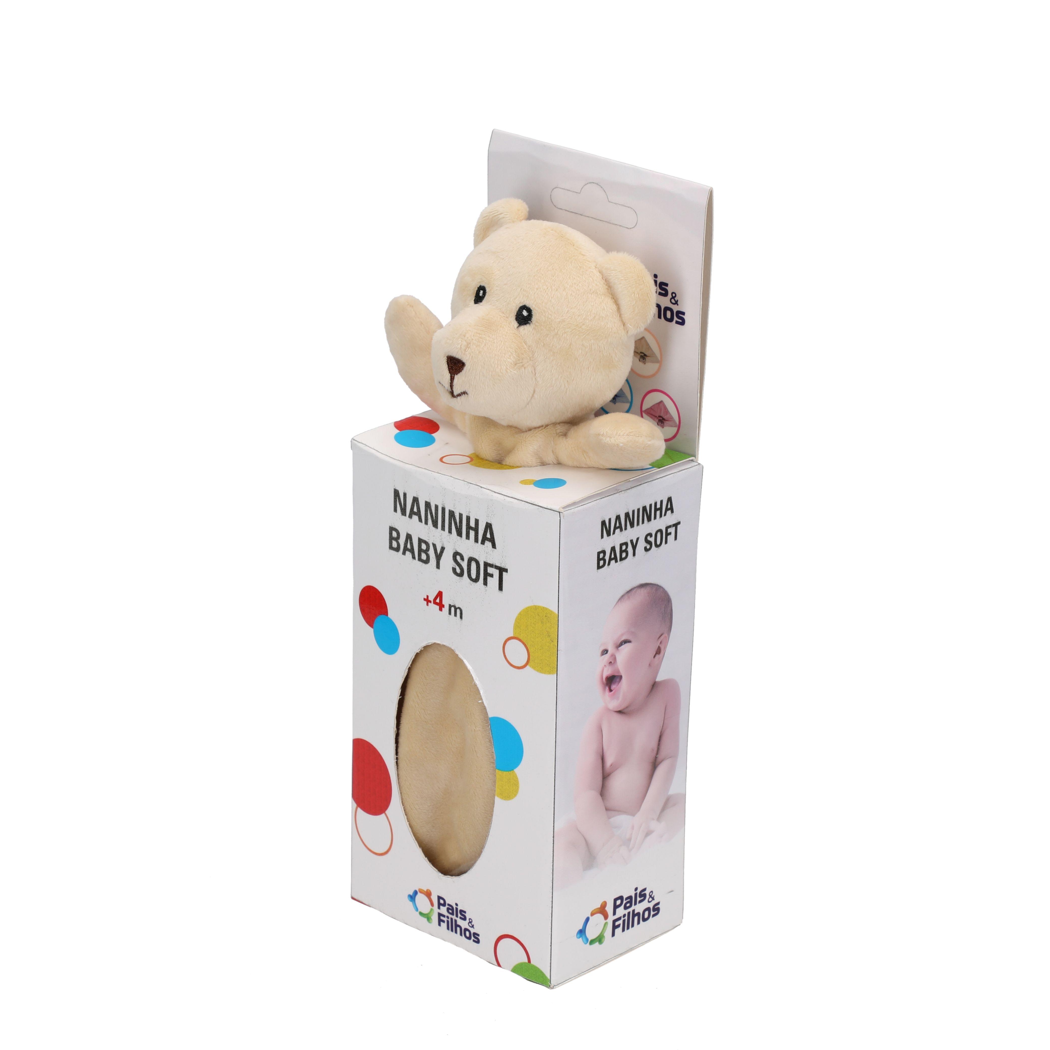 Naninha Baby Soft - Bege-15090
