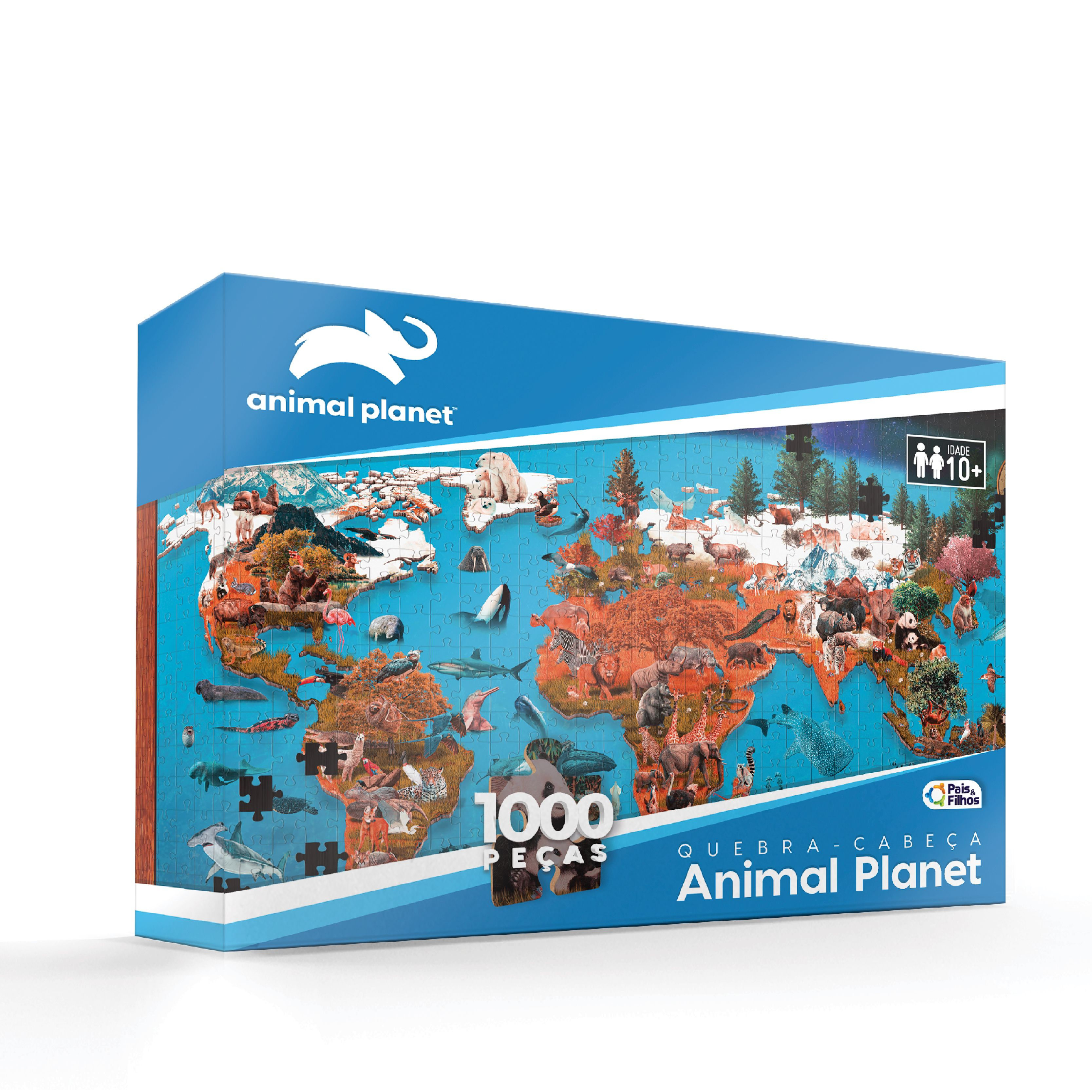Quebra-cabeça Animal Planet 1000P-790213