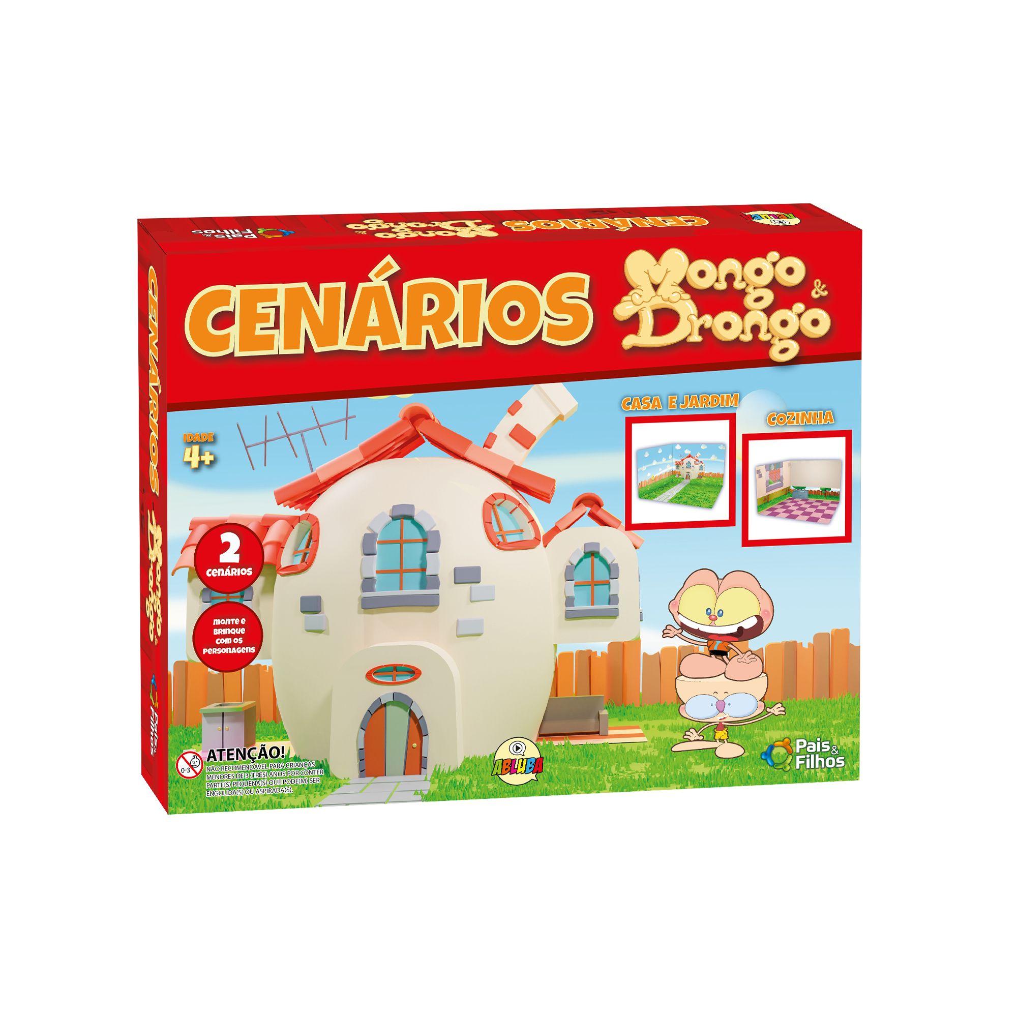 Mongo e Drongo - Cenários-790010