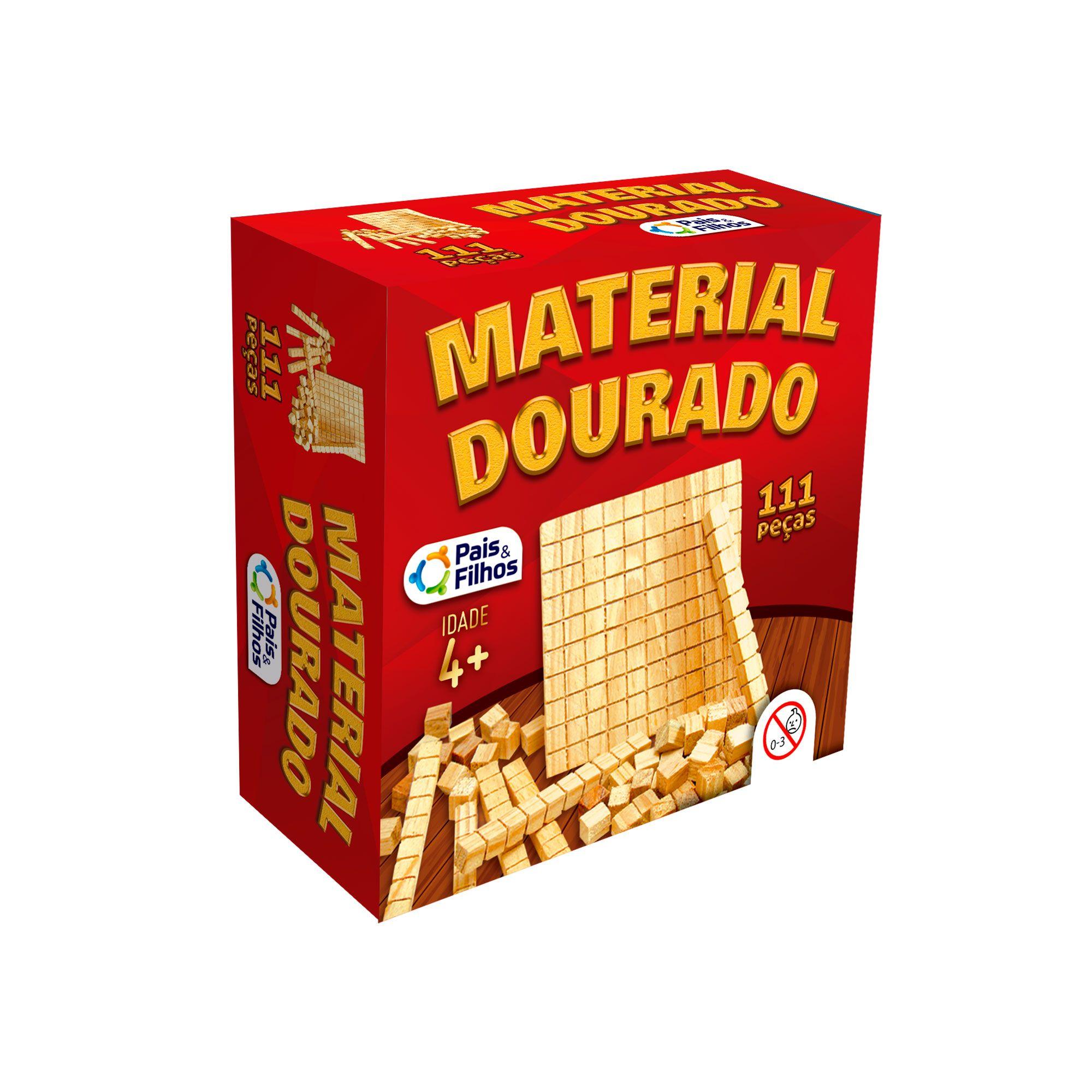 Material Dourado - 111 Peças-2922