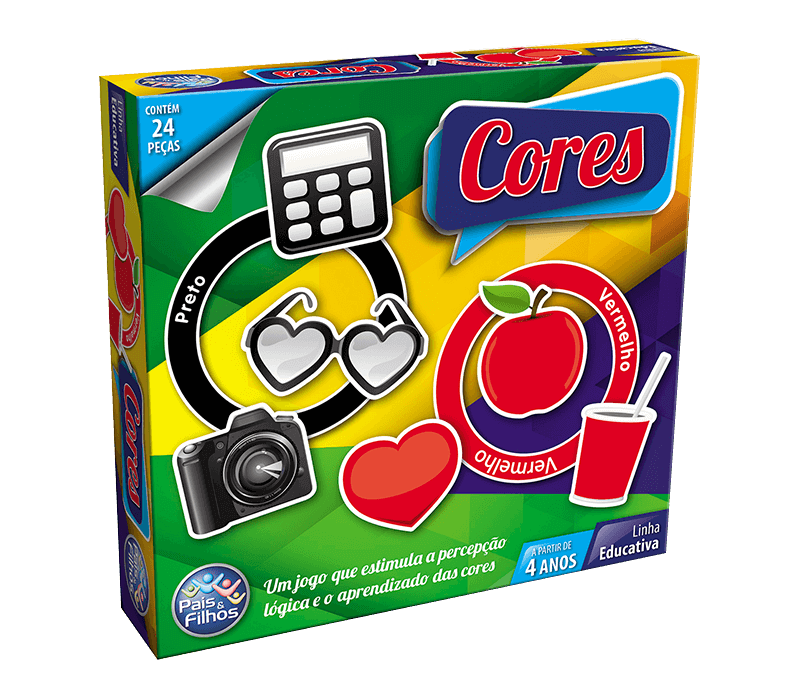 Cores - 24 peças