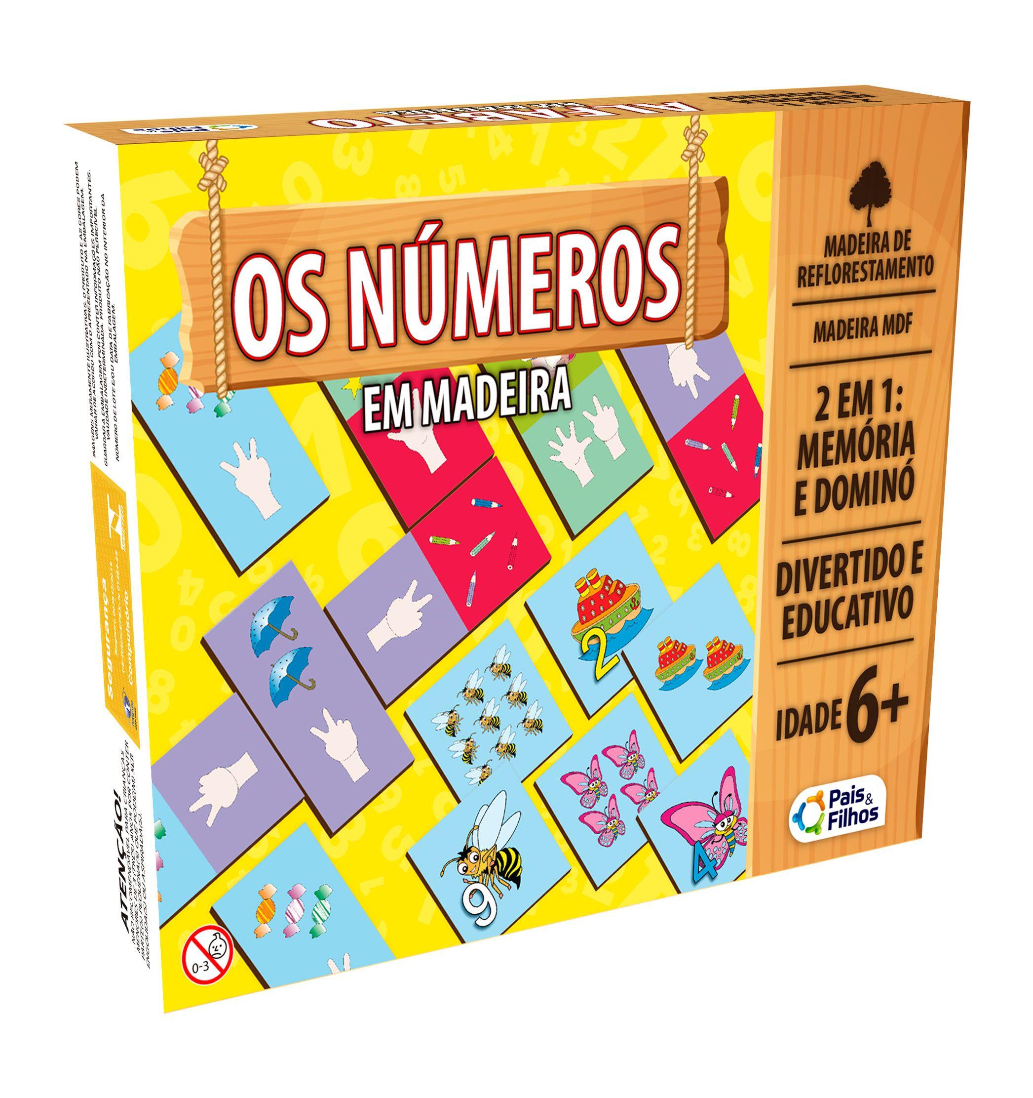Os Números - Memória e Dominó-2903