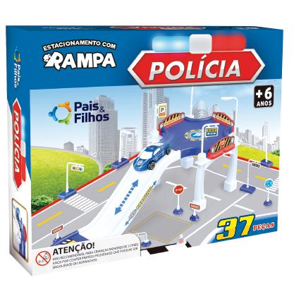 Estacionamento com rampa - Polícia -4028