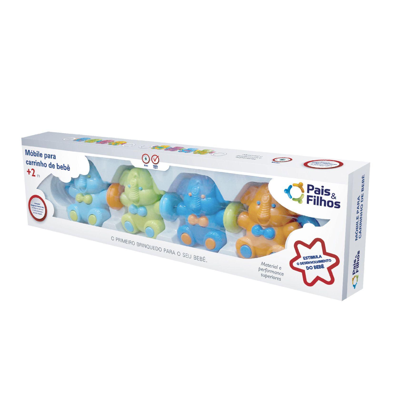 Móbile para carrinho de bebê-7820
