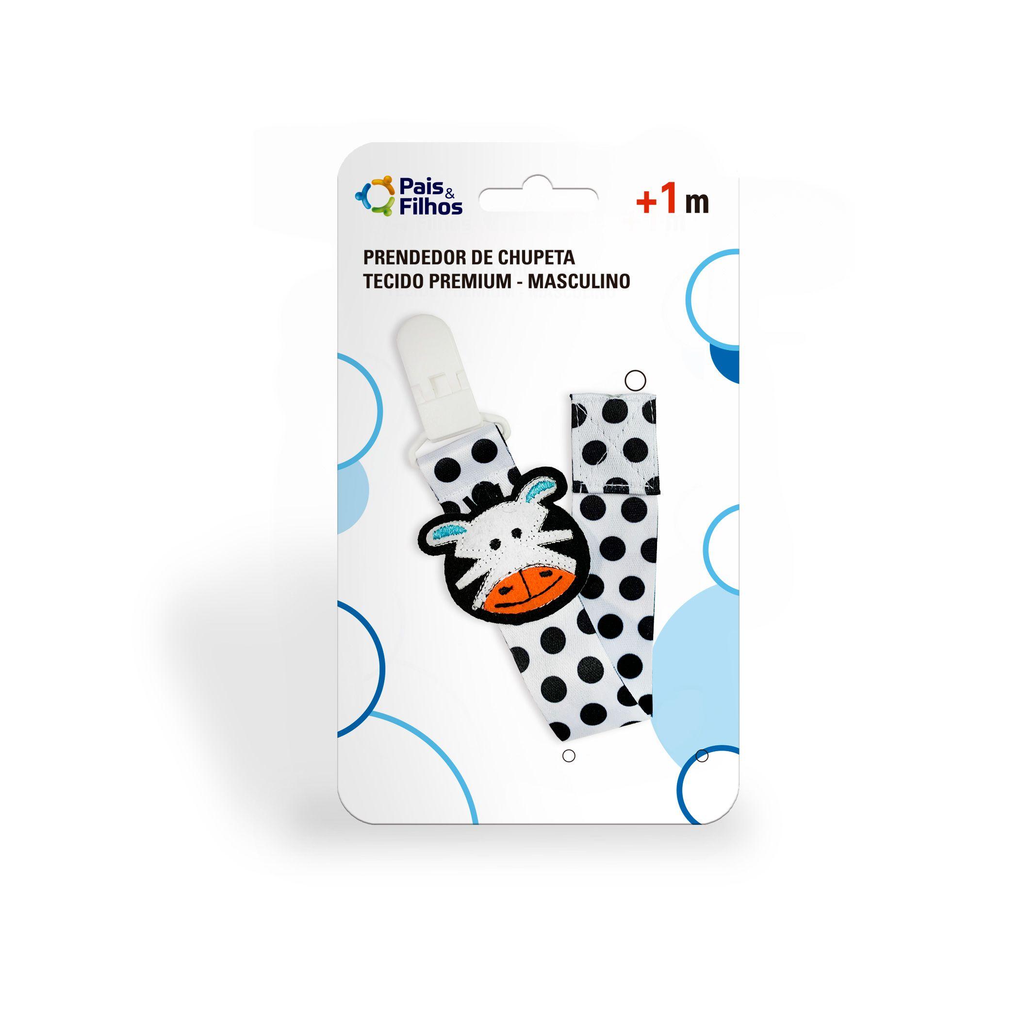 Prendedor de Chupeta Tecido Premium - Masculino-11292