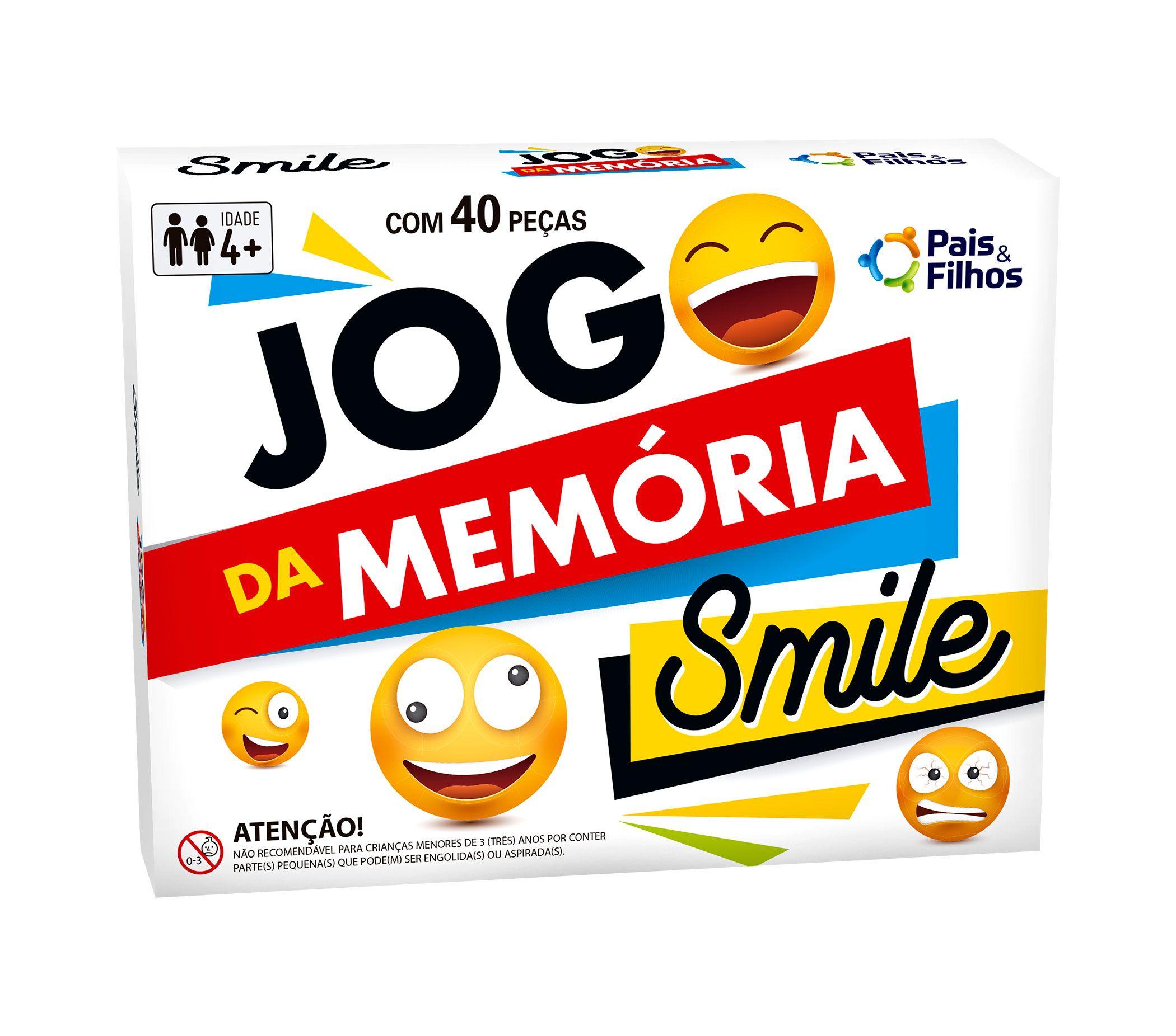 Jogo Da Memória - Smile-7270