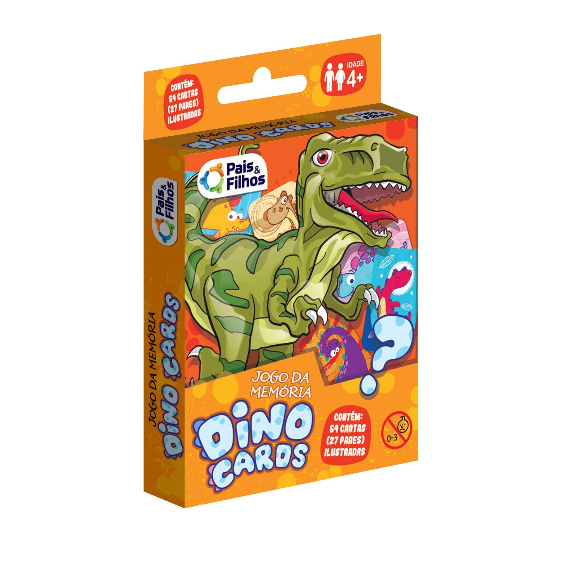 Jogo da memória Dino cards-7221
